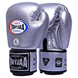 Guantoni da boxe Junior Kids & Adult Taglie Muay Thai Training in pelle Sparring Punching Bag, 4,8 once