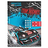 Diario Secreto con codigo Monster Cars
