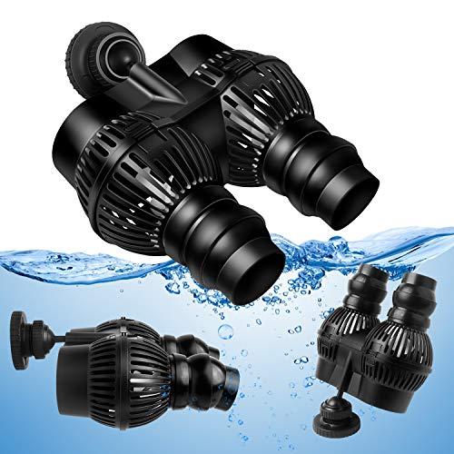 Forever Speed Wave Maker Aquarium Strömungspumpe Umwälzpumpe Wellenpumpe 2500-12000L/h (6000L/h mit Magnet Iron) -