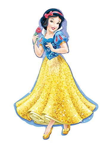 Amscan Anagram 2847401 - Party und Dekoration - Folienballon Super Shape - Disney Princess - Schneewittchen, circa 60 x 93 cm (Dekorationen Disney Geburtstag Princess)