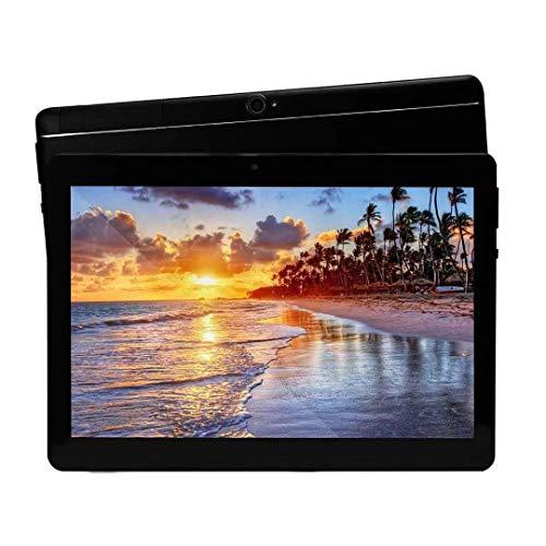 tablet octa core Tablet Android 8.1 da 10 pollici Octa Core CPU 4 GB RAM 64 GB Memoria interna WiFi Fotocamera GPS Doppia SIM senza blocco rete 3G tablet (Metallo nero)