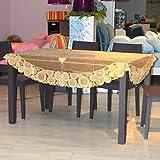 Best Accueil Elliptique Machines - JFFFFWI Table Ovale de Tissu PVC imperméable,Europe,nappes jetables Review