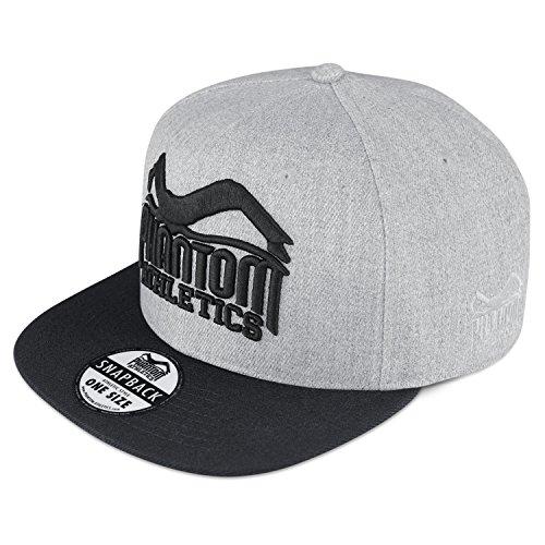 Phantom Athletics Caps - 20 Modelle - Neue Kollektion - Snapback Kappe Mütze Basecaps, Cap Team - Gray/Black, one size