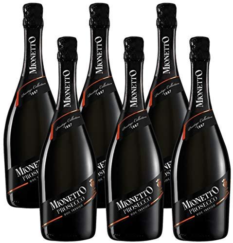 Mionetto Prosecco Spumante Doc Treviso Extra Dry (6 x 0.75 l)