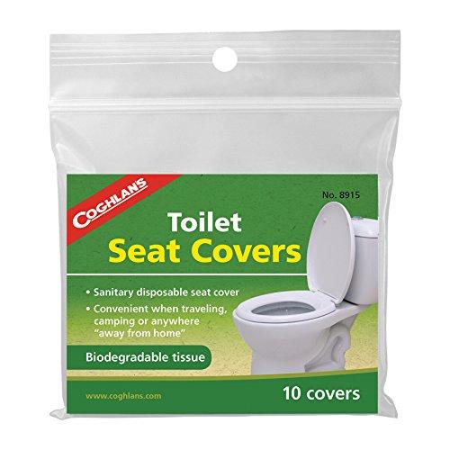 Coghlan-Toilette Sitzbezüge Packung mit 10 Stück