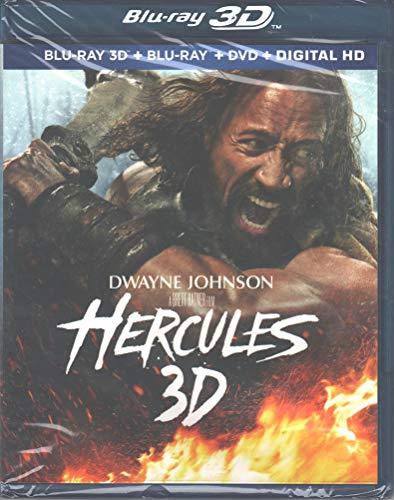 Hercules 3D [Blu-Ray 3D + Blu-Ray + DVD + Digital HD]