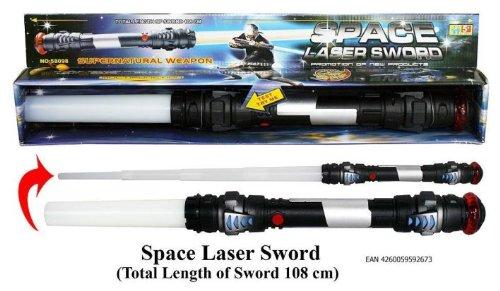 Laserschwert Star Wars batteriebetrieben 108cm mit Licht und Sound (Leuchtendes Kostüm Zeichen)