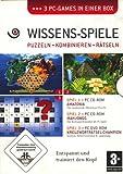 Wissens-Spiele Puzzeln Kombinieren Rätseln