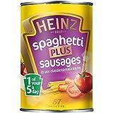 Heinz Espaguetis Con Salchichas En Salsa De Tomate (400g)