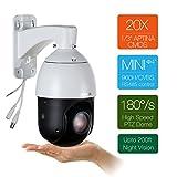 SUNBA 22X Optisches Zoom, 960H Analog Hochgeschwindigkeit PTZ Kamera, CCTV 100m Nachtsicht Outdoor Sicherheit Dome Kamera w/RS485 Kontrolle (405-22X)