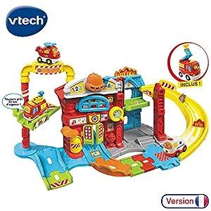 VTech-503905-Tut Tut Bólidos -Maxi cuartel de Bomberos + Louis- SOS Incendio