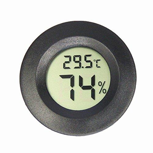 Mini LCD Digital Thermometer Hygrometer Kühlschrank Gefrierschrank Tester Temperatur Luftfeuchtigkeit Meter Detektor