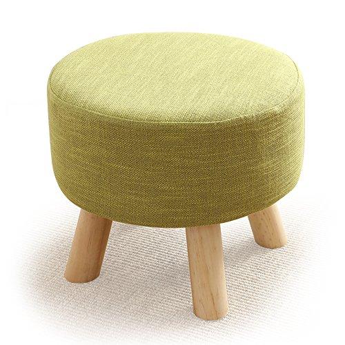 Dana Carrie Sur un tabouret bas petit tabouret rond canapé-lit dans le salon table basse est élégante et créative des bancs en bois dans une petite ville dans d'autres chaussures, vert