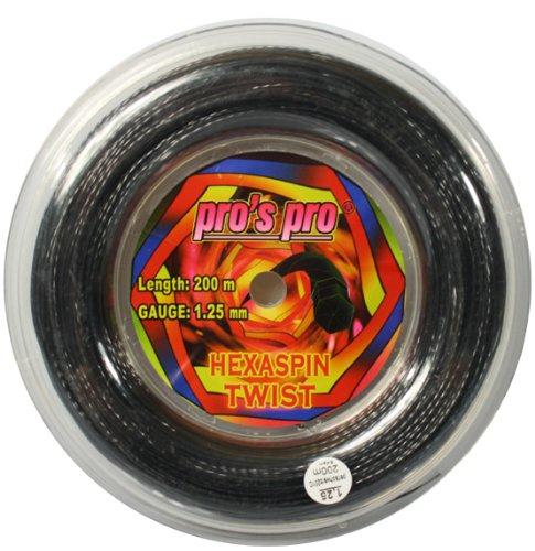 Tennissaite Hexaspin Twist 1.25 mm für Spin 200m
