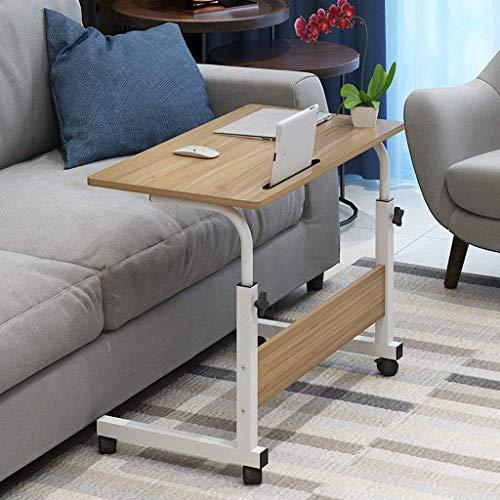 GEZHU Laptop-Tisch Es kann zusammenklappbare bewegen Bedside Sofa Seiten Studie Tabelle Fauler Tabelle Einstellbare Höhe Klapptisch (Farbe: C) Praktischer Klapptisch (Color : D)