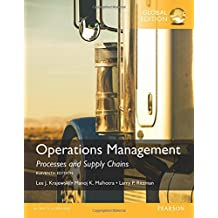 Operations Management: Processes and Supply Chains