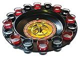 Fizz Creations Roulette alcolica con bicchierini, multicolore