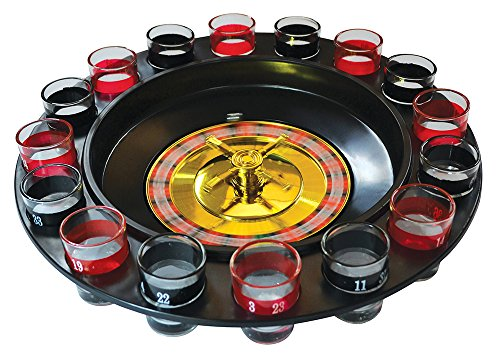Fizz Creations - Roulette alcolica con bicchierini, multicolore