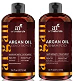 ArtNaturals Arganöl Shampoo & Conditioner Set - Haarwuchs-Anregend - je 473 ml - Sulfat-frei