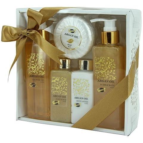 Bath Gift Set - Argan Oil