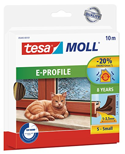 tesamoll-gummidichtung-fur-fenster-und-turen-braun-classic-e-profil-10m