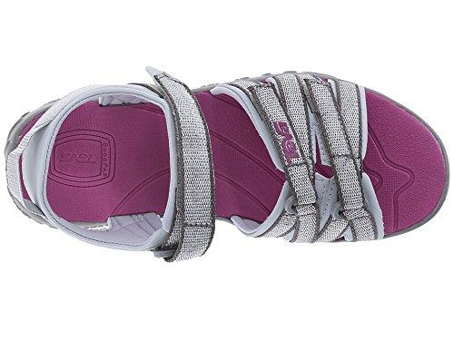 Teva Tirra C's Mädchen Sport- & Outdoor Sandalen silber - violett