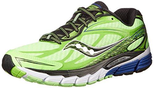 Saucony Ride 8 M, Chaussures de course homme Vert (Slime/Black/White)