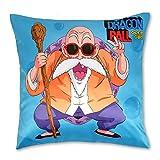 CoolChange Funda de Almohada 50x50 con Tema de Dragon Ball: Muten...