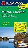 Murnau - Kochel - Das blaue Land rund um den Staffelsee: Wanderkarte mit Aktiv Guide und Radwegen. GPS-genau. 1:50000 (KOMPASS-Wanderkarten, Band 7)