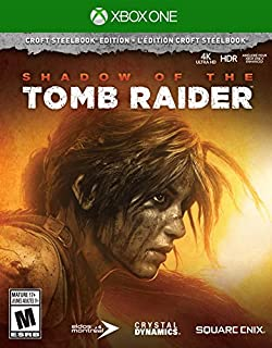 SHADOW OF THE TOMB RAIDER - CROFT STEELBOOK ED - SHADOW OF THE TOMB RAIDER - CROFT STEELBOOK ED (1 GAMES) (B07CP7K5XW) | Amazon price tracker / tracking, Amazon price history charts, Amazon price watches, Amazon price drop alerts