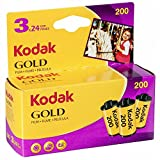 Kodak KOD102010 - Película negativo color (35mm, gold 200-24 tripack) multicolor