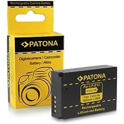 Batterie LP-E12 pour Canon EOS 100D | EOS M | EOS Rebel SL1