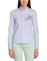 Manoush Damen Bluse Chemise M-badge