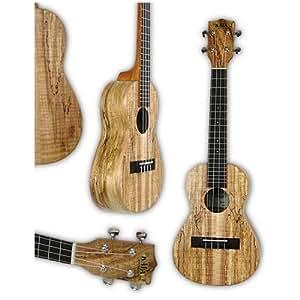 Ukuleles kala ka smc spalted maple housse concert for Housse ukulele concert