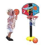 Basketballkorb mit Ständer Kinder Basketball Basketballring Korb Basketballständer Basketballset Spielset 110cm