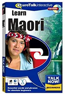 Talk Now Learn Maori: Essential Words and Phrases for Absolute Beginners (PC/Mac)