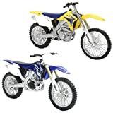 New Ray 67223 R Modellino Moto Dirt Bike + Race, Modelli Assortiti