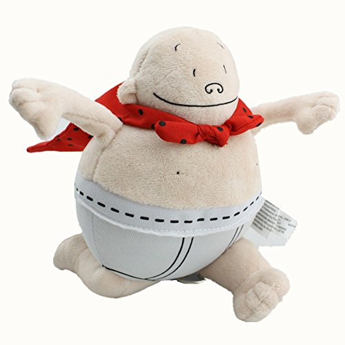 Captain Underpants Plush Action Doll, 8""