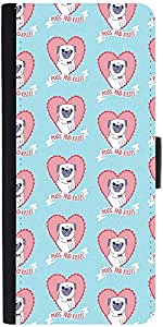 Snoogg Pugs And Kisses Cutedesigner Protective Flip Case Cover For Samsung Ga...