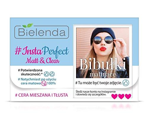 BIELENDA #INSTA PERFECT Matt&Clear Mattierende Tücher 100 Stk.
