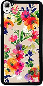 PrintVisa Pattern Abstract Floral Back Cover for HTC Desire 826 (2D-HTCD826-D7968)