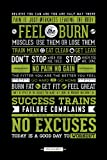 Pyramid Generic Gym Motivational Maxi Poster, 61 x 91,5 cm