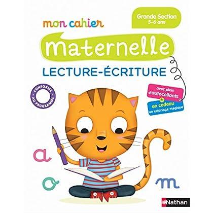 Mon Cahier Maternelle - Lecture écriture Grande Section