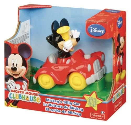 Price Cars Fisher Disney (Disney Mickey Mouse Clubhouse - Mickey's Silly Sounds Car by Fisher-Price)