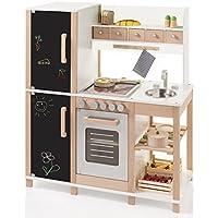 Kinderküche Spielküche aus Holz mit Tafel - Sun 4139