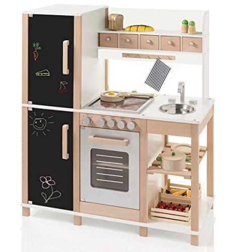 *Sun – 04139 – Spielküche mit Tafel aus Holz*