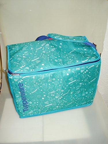 Tupperware Kühltasche Picknick Tasche Kühlbox faltbar grün/blau