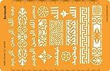 Joyería joyas Art Craft diseño plantilla de dibujo redacción Stencil–indio islámica de Asia Oriental ornamentos y patrones