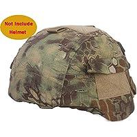 MICH 2000 Ver2 casco de combate con cierre de Velcro bolsa Mandrake Kryptek para Airsoft caza Paintball táctico militar