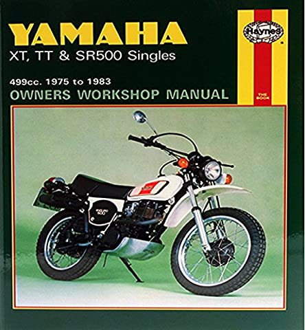 Yamaha XT, TT & SR500 Singles (75 - 83) (Haynes